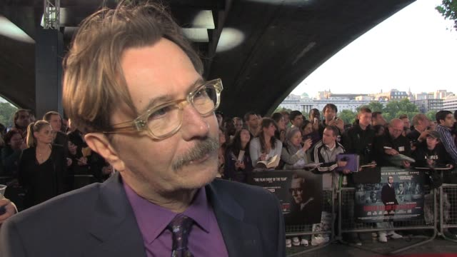 Gary Oldman talks about the character he plays in the film and how he interpreted the role He also talks about the other cast members and what actors...