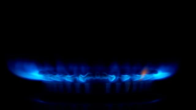 SLOW-MO: Gas burner