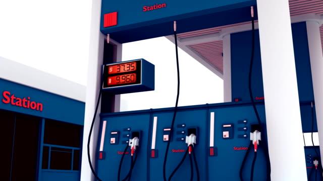 Gas Station Pump Counter - HD