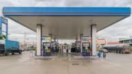 Gas station service, Dolly shot