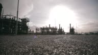 Gas treatment facility and storage in northern England, Stublach site.