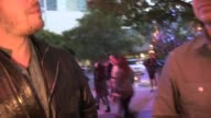 Gavin DeGraw talks about the Rangers loss and touring with Billy Joel while departing from RangersKings Game 1 at Staples Center on June 04 2014 in...