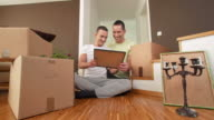 HD DOLLY: Gay Couple Decorating New Home