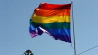 Gay Rainbow Pride Flag HD