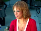 Gayle King discussing her duties as a festival judge at the 2006 Tribeca Film Festival Vanity Fair Party at State Supreme Courthouse in New York New...