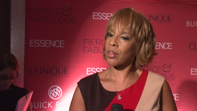 Gayle King talks about celebrating essence magazine's 40th anniversary and the group of fierce fabulous women Talks about oprah as the fierce and fab...