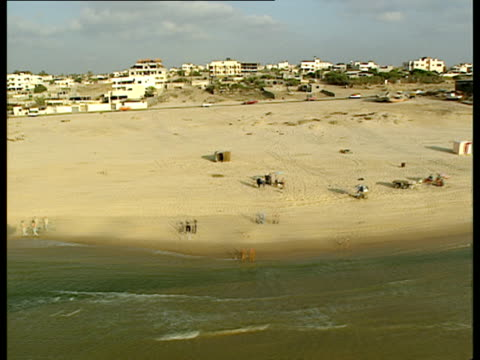 AERIAL WS Gaza Strip, Israel
