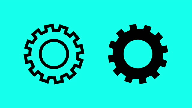 Gear - Vector Animate