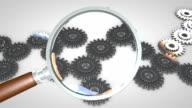 Gears magnifier