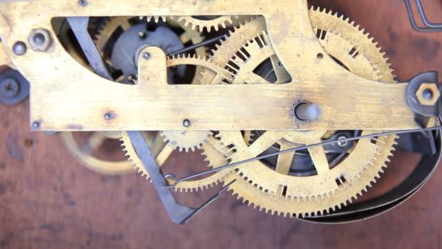 Ingranaggi di clock antico.