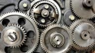 Gears of engine
