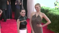 Gemma Ward and Cindy Chao at 'China Through The Looking Glass' Costume Institute Benefit Gala Arrivals at Metropolitan Museum of Art on May 04 2015...