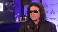 Gene Simmons on the state rock stars today Amy Winehouse at the Gene Simmons Interview at London England