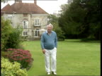 Crime/Paedophiles LIB Former Prime Minister Sir Edward Heath in the garden of his home ZOOM