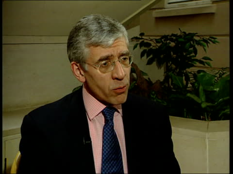 Law and Order ITN Jack Straw interview SOT Crime is still to high / Must continue programme / Will increase police recruitment