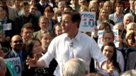 David Cameron rally at Marston's Brewery David Cameron speech continued SOT does anyone believe one more law will crack crime We are only going to...