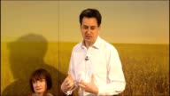 Ed Miliband speech on Labour manifesto Miliband speech SOT With tax rises we've proposed burden is on those at the top of income scale / We face big...