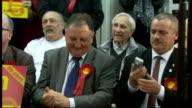 Gordon Brown speech in Dumfries Gordon Brown speech SOT privilege to be here in Dumfries/ praises Dumfries Labour candidate Russell Brown/ jokes...
