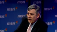 2010 Gordon Brown talks to workers at MSN in London Gordon Brown MP QA session SOT No longer in Iraq have left Basra / Afghanistanthree quarters of...