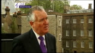 hung parliament fifth day talks ENGLAND London Westminster EXT Peter Hain MP LIVE interview SOT On talks between Liberal Democrats and Tories and Lib...