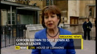 hung parliament fourth day talks Gordon Brown resigns as Labour Party leader ENGLAND London westminster EXT John Mann MP interview SOT discusses...