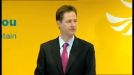 Nick Clegg and Vince Cable give press conference Clegg press conference SOT We will crack down on tax avoidance / Our latest research shows that...