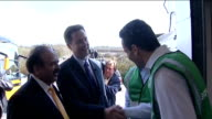 Nick Clegg visits 2K Manufacturing in Luton ENGLAND Luton EXT Nick Clegg MP and Qurban Hussain along together and meeting staff at recycling firm /...