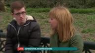 Conservatives launch English manifesto SCOTLAND Renfrewshire Johnstone EXT Reporter to camera Vox Pops