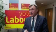 Ed Balls interview ENGLAND Wiltshire Swindon INT Ed Balls MP interview SOT on importance of Swindon constituency why people should vote Labour how...