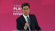 Ed Miliband launches Manifesto For Young People Ed Miliband QA session media questions SOT ruling out coalition between Labour and SNP/ David Cameron...