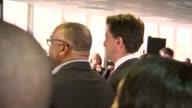 Ed Miliband speech at the Praise House Community Church in Croydon ENGLAND London Croydon PHOTOGRAPHY*** Gospel church congregation singing
