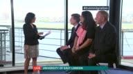 Immigration policy ENGLAND London Univerity of East London INT Matthew Goodwin Sajeel Kershi John Dumbleton LIVE interviews SOT [ASTONS