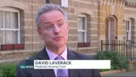 Issues housing ENGLAND London EXT David Laverack interview SOT