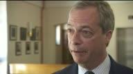 Labour Immigration taskforce Nigel Farage interview BBC ENGLAND Kent Sandwich INT Nigel Farage interview SOT Labour taskforce to crackdown on...