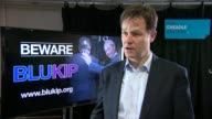Nick Clegg speech warning of 'Blukip' coalition Nick Clegg interview SOT re decision not to prosecute Labour peer Lord Janner for child sex abuse/...