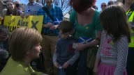 Nicola Sturgeon campaigns for Alex Salmond 1842015 SCOTLAND Gordon Inverurie EXT Various of Nicola Sturgeon campaigning with Alex Salmond / Sturgeon...