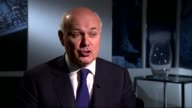 Record number of people in work Iain Duncan Smith interview ENGLAND London Westminster Iain Duncan Smith interview SOT re job statistics 'a jobs...