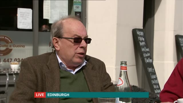 Undecided voters Edinburgh and Loughborough SCOTLAND Edinburgh South EXT Interview with undecided voters James and Craig SOT/ ENGLAND Leicestershire...