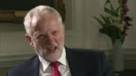 Corbyn outlines foreign policy ENGLAND London Chatham House INT Jeremy Corbyn interview SOT Talks of when he would support military action / talks of...