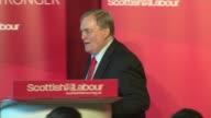 Gordon Brown and John Prescott speeches Lord Prescott speech SOT