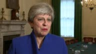 Hung parliament Theresa May to form new government 10 Downing Street INT Theresa May MP interview SOT [I had wanted] to achieve a larger majority but...