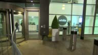 ITV Leaders' Debate Departures ENGLAND Greater Manchester Salford Media City Exterior of building / Paul Nuttall MEP departing building along to car...