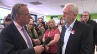 Jeremy Corbyn calls for Theresa May to resign over police cuts ENGLAND County Durham Consett Derwentside College INT Reporter Michael Crick...