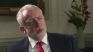 Jeremy Corbyn interview ENGLAND London Chatham House INT Jeremy Corbyn interview SOT Talks of when he would support military action / opposition to...