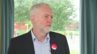 Jeremy Corbyn interview ENGLAND North Yorkshire Middlesbrough INT Jeremy Corbyn interview SOT re London Bridge attack and police numbers backs call...