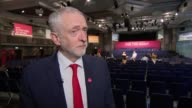 Jeremy Corbyn interview ENGLAND West Midlands Birmingham INT Jeremy Corbyn interview SOT re Trident cyber security Heathrow expansion