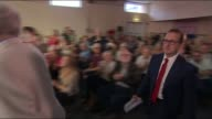 Jeremy Corbyn profile LIB / 482016 WALES Cardiff INT Corbyn and lLabour leadership challenger Owen Smith to stage for leadership election hustings...
