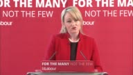 Labour Jeremy Corbyn Angela Rayner launch education policy ENGLAND West Yorkshire Leeds INT GVs Jeremy Corbyn arriving with Rebecca LongBailey and...