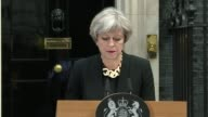 General Election 2017 / London Bridge attack Theresa May statement ENGLAND London Downing Street EXT Theresa May statement SOT re London Bridge...