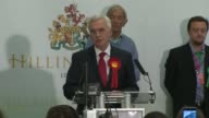 London declarations 2 HAYES HARLINGTON declaration speech and interview John McDonnell SOT